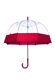 Hunter---Parapluie-pour-adultes---Original-Moustache-Bubble---Rouge