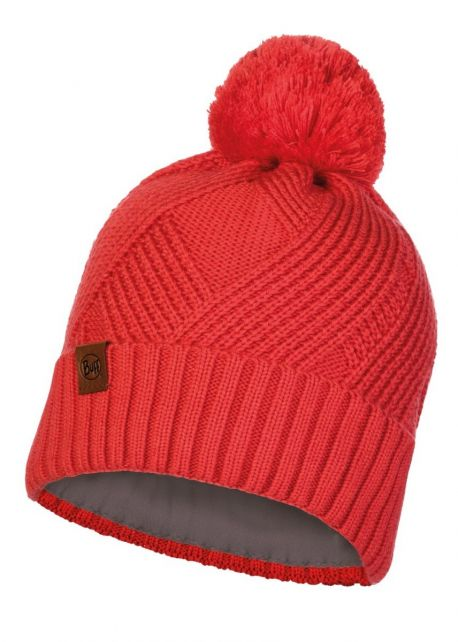 Buff---Bonnet-pour-adultes---Rouge