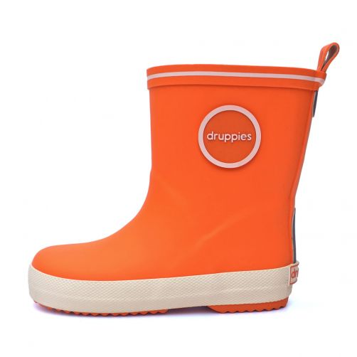 Druppies---Rainboots---Orange